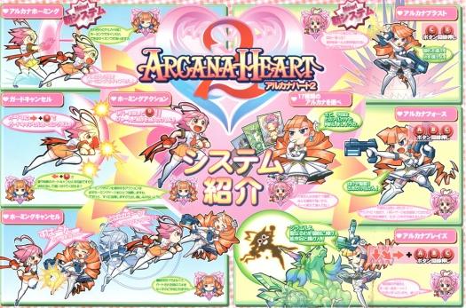 Arcana Heart 2 marquee